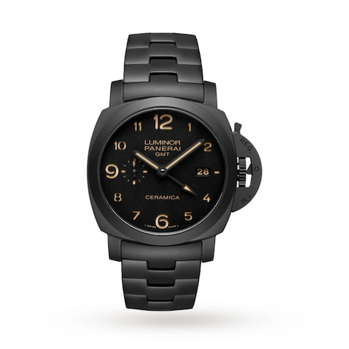 Luminor Due 3 Days GMT Automatic Ceramica Mens Watches