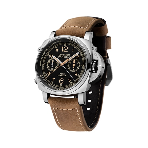 Luminor Due PCYC 3 Days Chrono Flyback Automatic Acciaio Mens Watches
