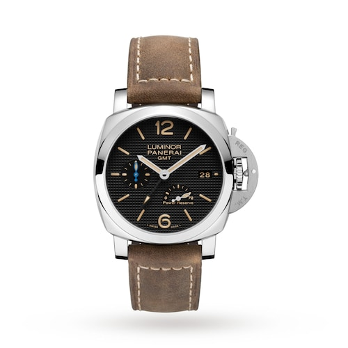 Luminor Due 3 Days GMT Power Reserve Automatic Acciaio Mens Watches
