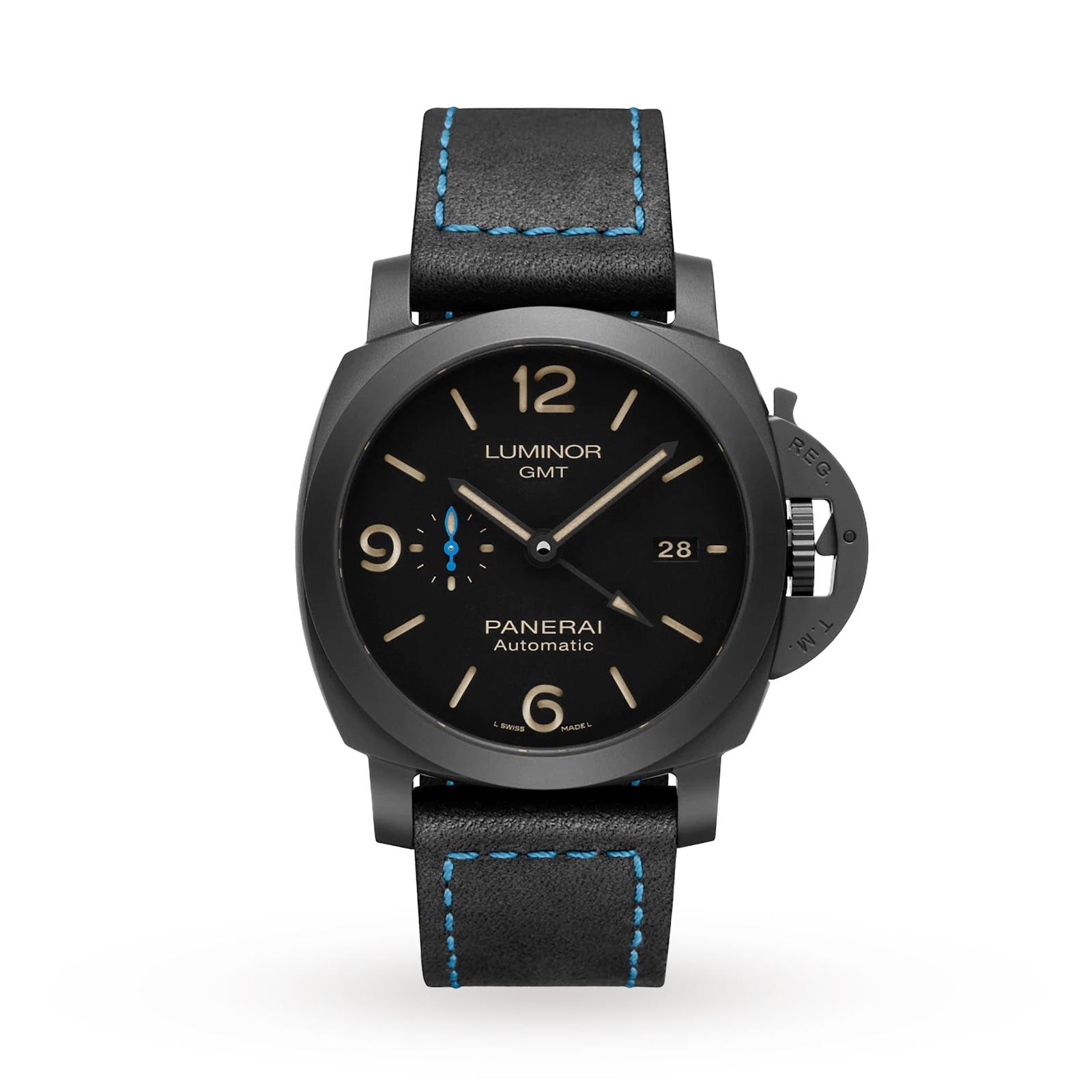Panerai Luminor Due 3 Days GMT Automatic Ceramica 44mm Watch Mens Watches