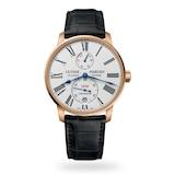 Ulysse Nardin Marine Chronometer Torpilleur Automatic White Dial Mens Watch