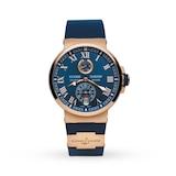 Ulysse Nardin Marine Chronometer Mens 43mm Watch