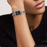Chanel Premiere Steel and Onyx Watch 28mm