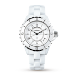 Chanel J12 White Ceramic and Steel 33mm