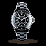 Chanel J12 Black Ceramic and Steel 33mm