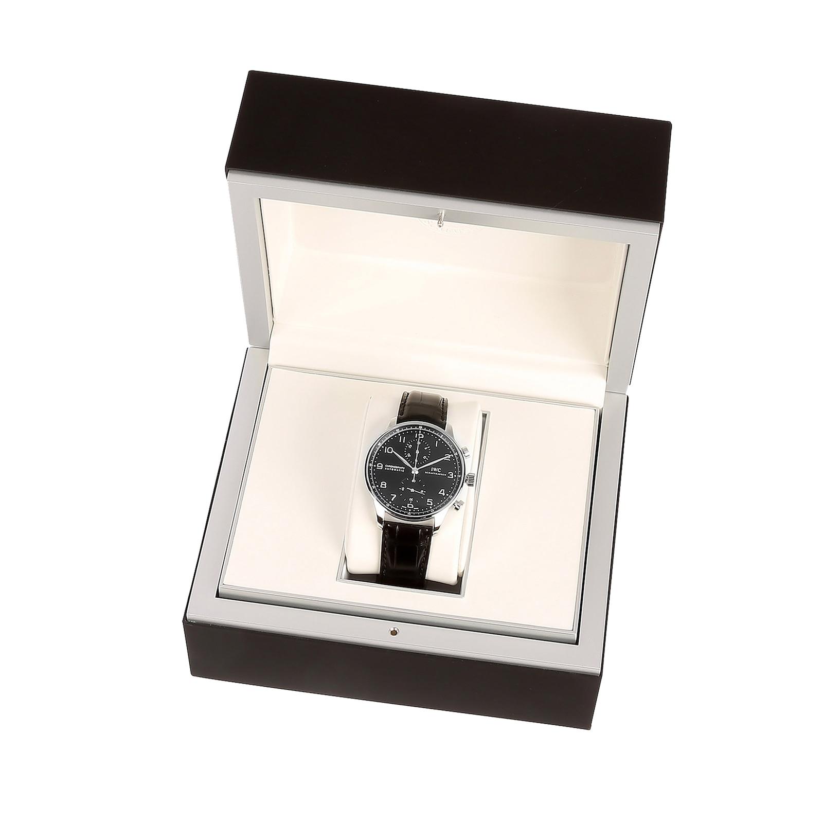 IWC Portugieser Chronograph Mens Watch