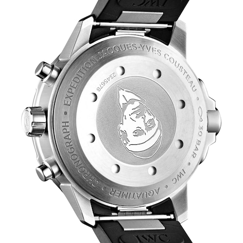 Aquatimer Chronograph Edition 'Jacques-Yves Cousteau' Mens Watch