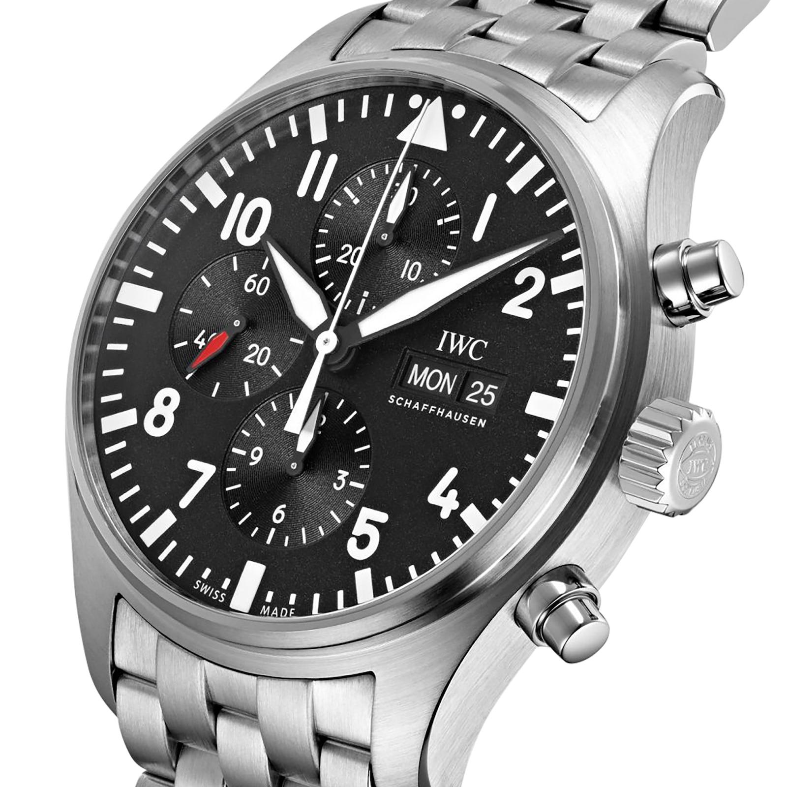 IWC Pilot's Chronograph Mens Watch