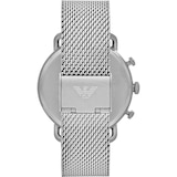 Emporio Armani Mens Stainless Steel Mesh Watch