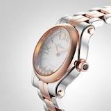 Chopard Rose Gold Happy Sport Mini Automatic 30mm Ladies Watch