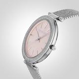 Michael Kors Pyper Pink Mesh Ladies Watch