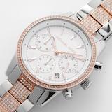 Michael Kors Ritz Two Tone Ladies Watch