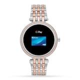 Michael Kors Gen 5E Darci Pave Two-Tone Smartwatch