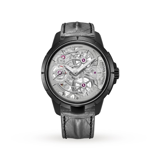 Skeleton Pure Stainless Steel Black PVD