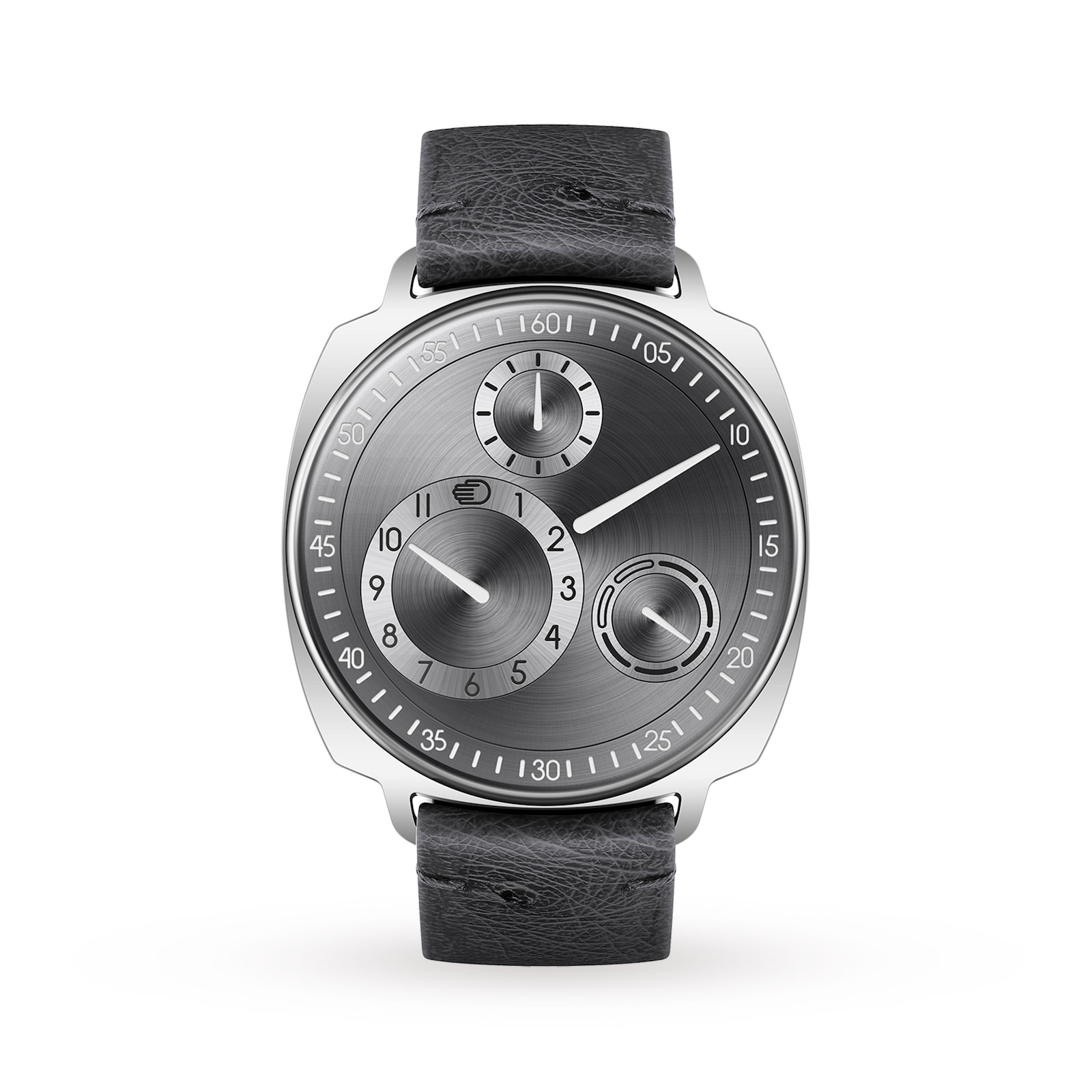 Ressence Type 1 Square Ruthenium Silver