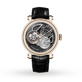 Speake-Marin One & Two Openworked Dual Time 18k Rose Gold 42mm