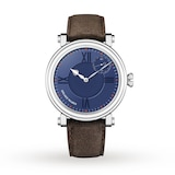 Speake-Marin One & Two Academic Metallic Blue LIMITED EDITION - SMA03 In-House movement