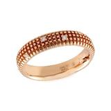 Damiani Metropolitan Dream 18ct Rose Gold 0.07cttw Diamond Ring