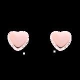 Ted Baker Rose Coloured Harly Tiny Heart Stud Earrings