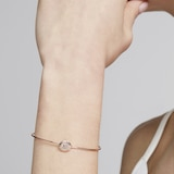 Ted Baker Jewellery Ladies Rose Gold Plated Elvas Enamel Mini Button Uitrafine Cuff