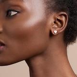 Ted Baker Ted Baker Crystal Heart Rose Gold Coloured Crystal Stud Earrings
