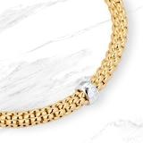 FOPE 18ct Yellow Gold Solo Flex'It Bracelet