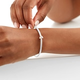 FOPE 18ct White Gold Flex'it Prima Bracelet