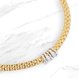 FOPE 18ct Yellow Gold Flex'it Prima Bracelet