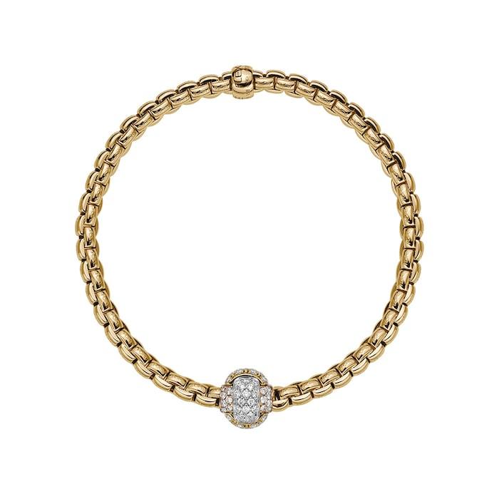 FOPE 18ct Yellow Gold EKA Tiny Bracelet