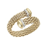 FOPE 18ct Yellow Gold Diva Bangle