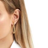 Fope Essentials Flex'it 18ct Yellow Gold Small Teardrop Earrings