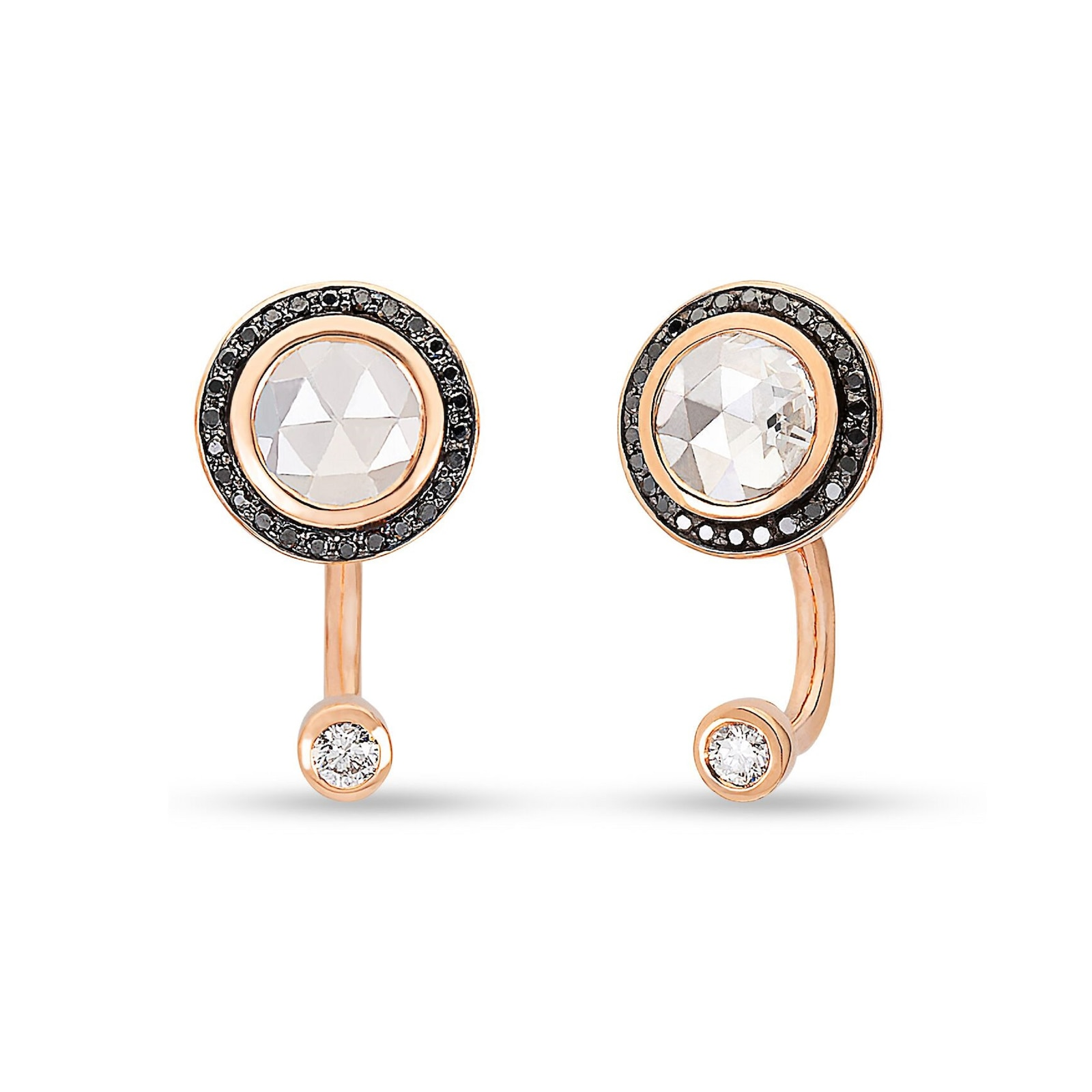 Pamela Love Gravitation Diamond Earrings