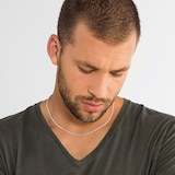 Thomas Sabo Mens Sterling Silver 53cm Basic Chain