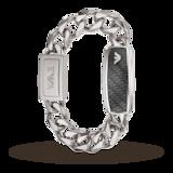 Emporio Armani Gents Steel and Mesh Link Bracelet