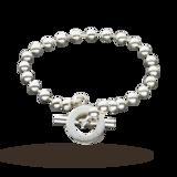 Gucci Boule Silver 18cm Bracelet