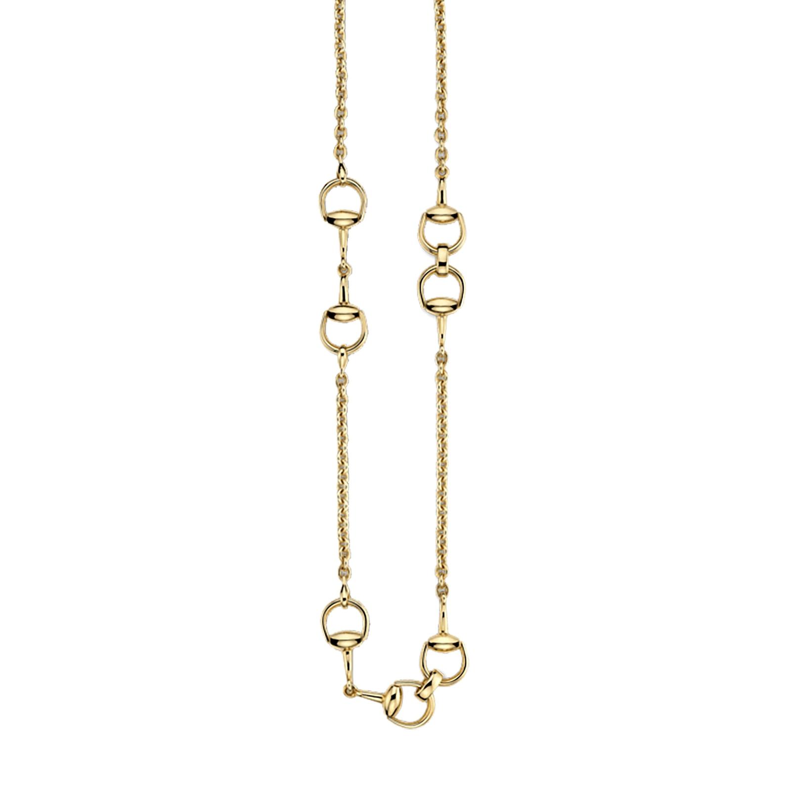 Gucci Horsebit Gold Necklace