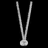 Gucci Britt Silver Double G Necklace