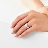 Jenny Packham 18ct White Gold Cluster 0.50cttw Diamond Bridal Set