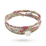 Message by Merci Maman Best Friend Forever Sterling Silver Liberty Wrap Bracelet