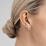 Georg Jensen Sterling Silver Offspring Stud Earrings