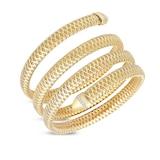 Roberto Coin Primavera Diamond Four Coil Bangle