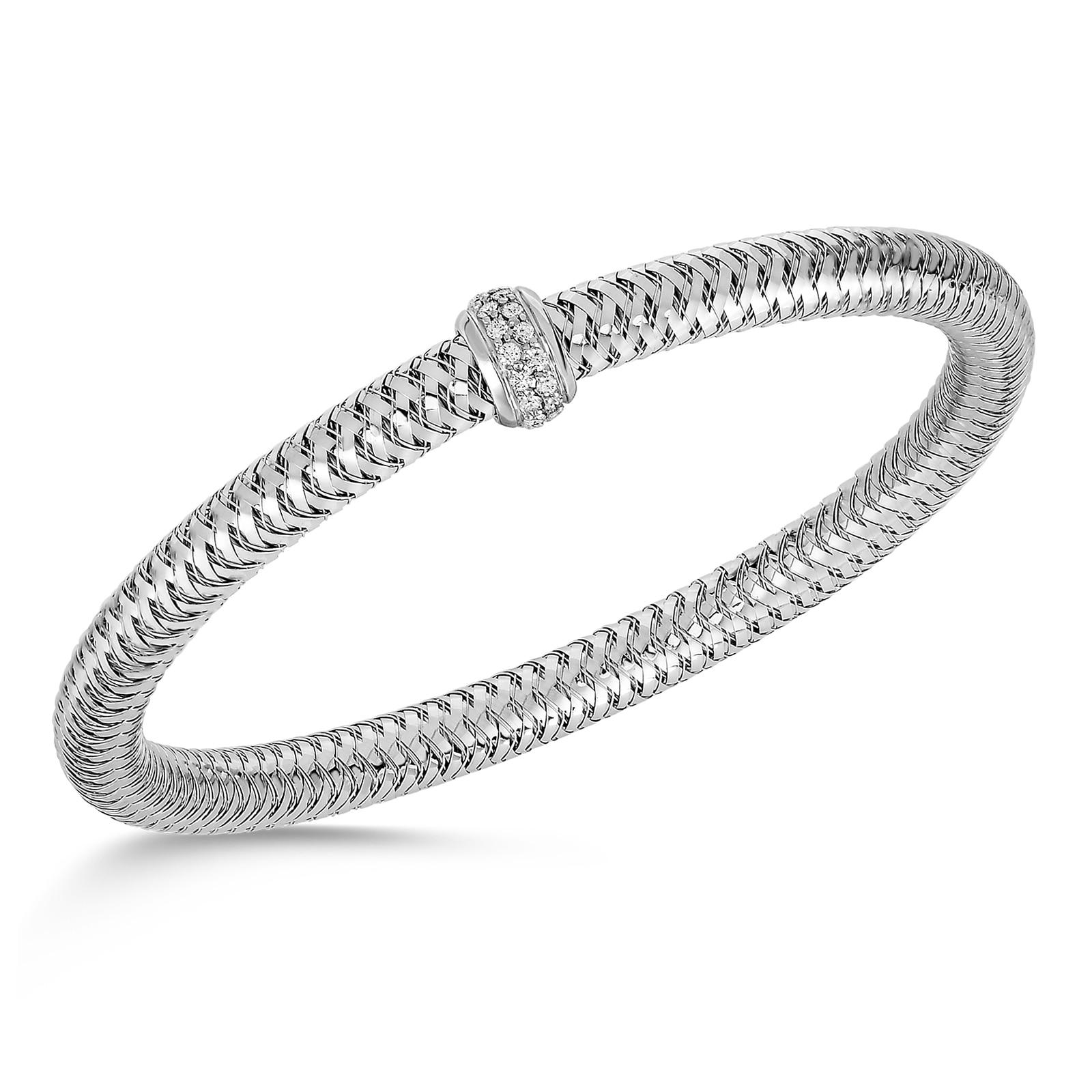 Roberto Coin Primavera Gold And Diamond Bracelet