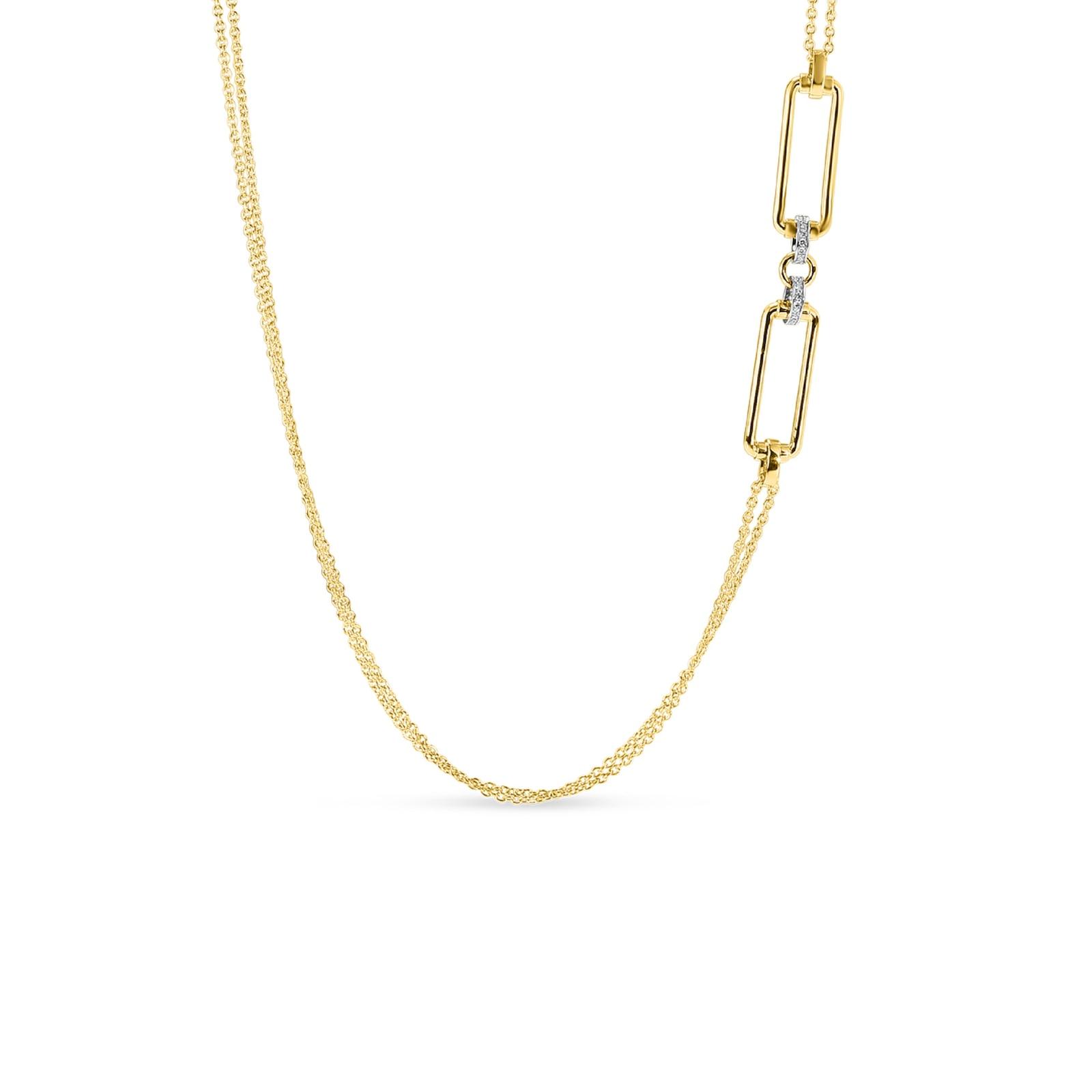 Roberto Coin Classique Parisienne Diamond Necklace