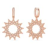 Roberto Coin Roman Barocco Diamond Earrings
