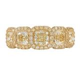 JB Star 18k Yellow Gold 2.36cttw Diamond Diamond Band - Ring Size 6.5