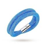 SWAROVSKI Stardust Capri Blue Double Bracelet - Medium