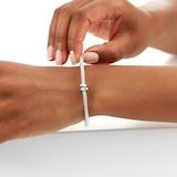 FOPE Exclusive Flex'it White Gold Sapphire Prima Bracelet