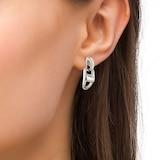 BOSS Stainless Steel Chain Link Earring