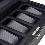 WOLF Windsor 5 Piece Watch Box with Cover