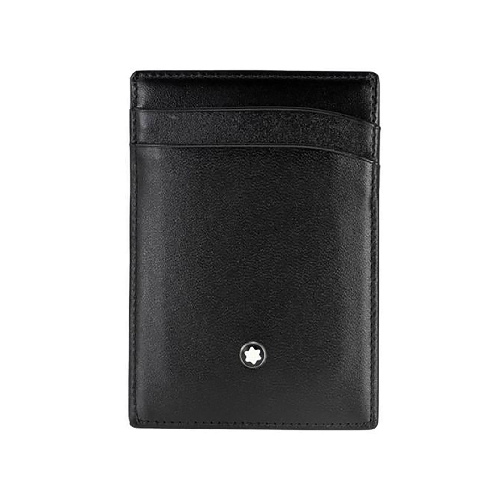Montblanc Meisterstück Black Leather 2CC Holder